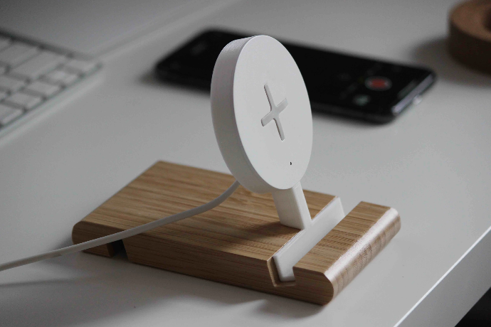 IKEA Standing Wireless Charger Hack free 3d print model download