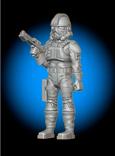 Mechanized Trooper free 3d print model download