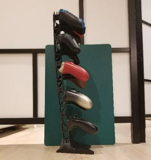 Modular Controller Stand Counterbalance Base free 3d print model download