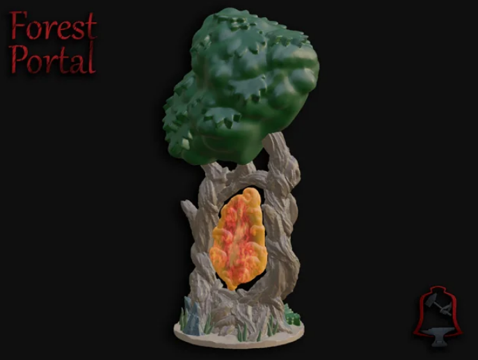 OpenFoliage Forest Portal free 3d print model download