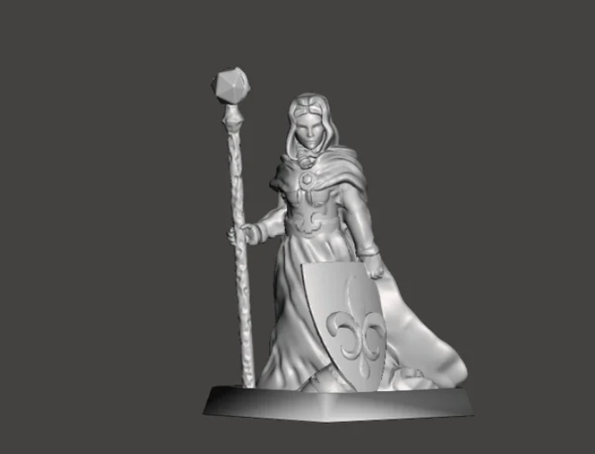 The Enchantress free 3d print model download