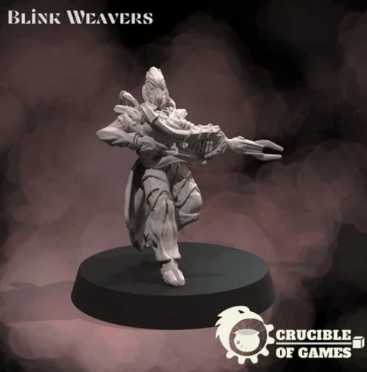 Ungwe, the Blink Weaver free 3d print model download