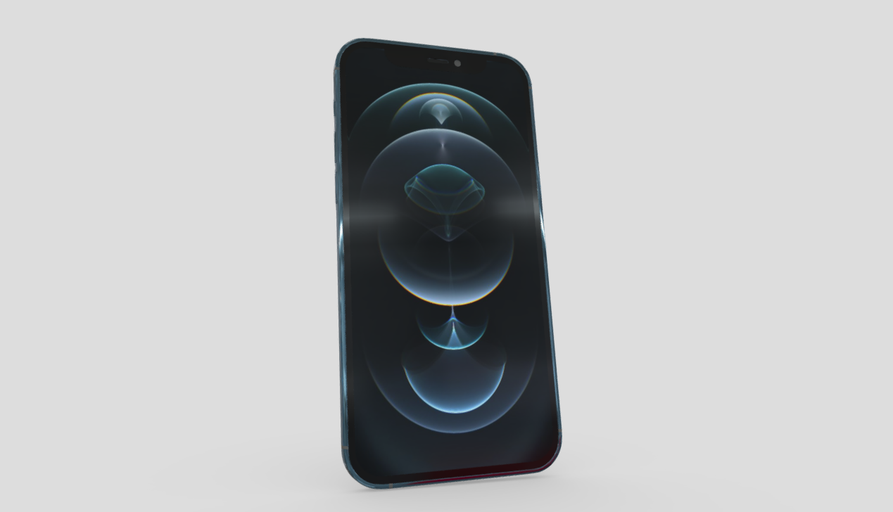 iPhone 12 Pro free 3d model download