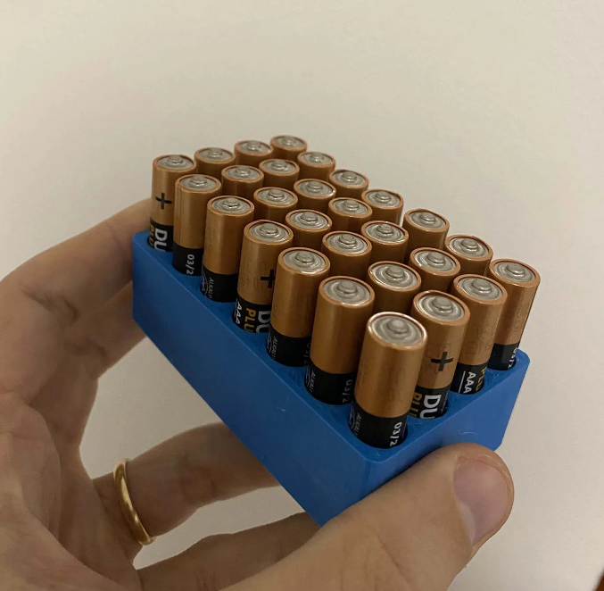 AAA Battery Holder free 3d print model download