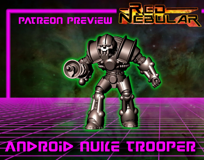 Android nukatrooper free 3d print model download