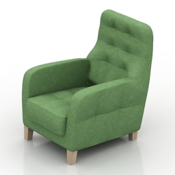 Armchair 8Marta Tomas free 3d model download