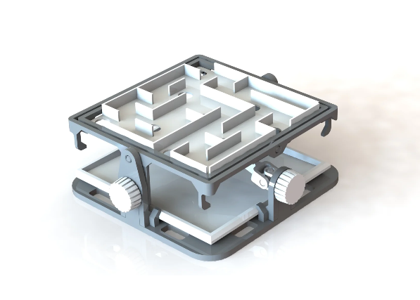 Labyrinth Ball Table free 3d print model download