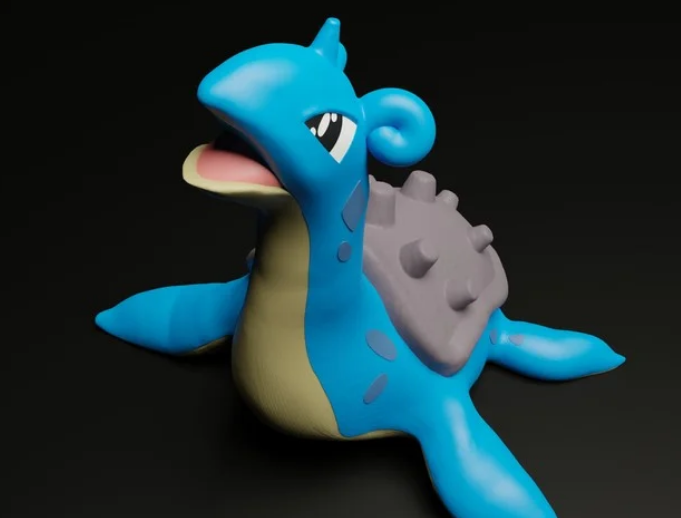 Lapras free 3d print model download