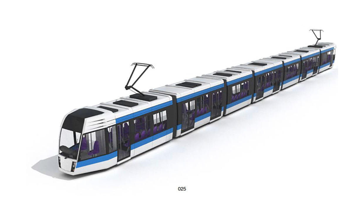 City Tramway 3d model 025