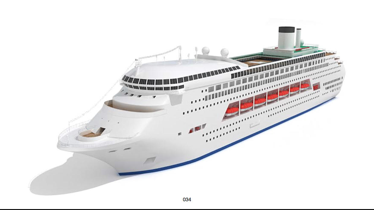 Cruise Ship Oasis of The Seas 3D model 34