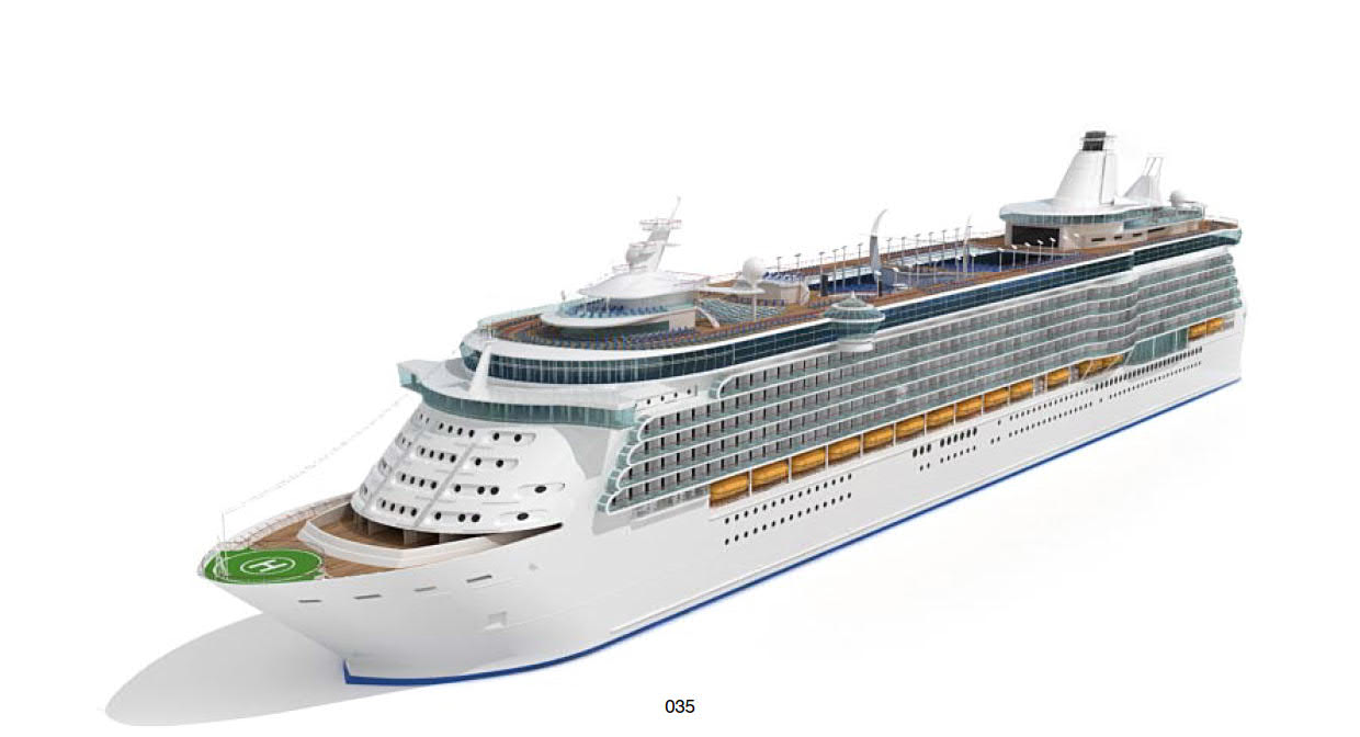 Cruise Ship Oasis of The Seas 3D model 35