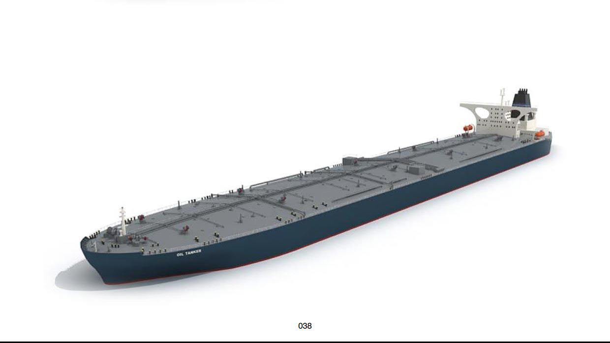 oil tanker ship 3d model 38
