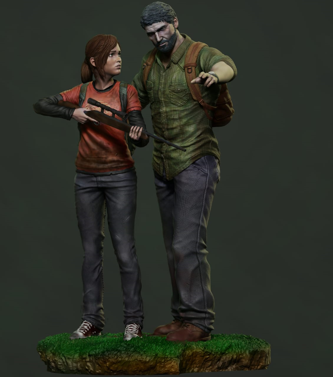 The last of us 3d model for printing